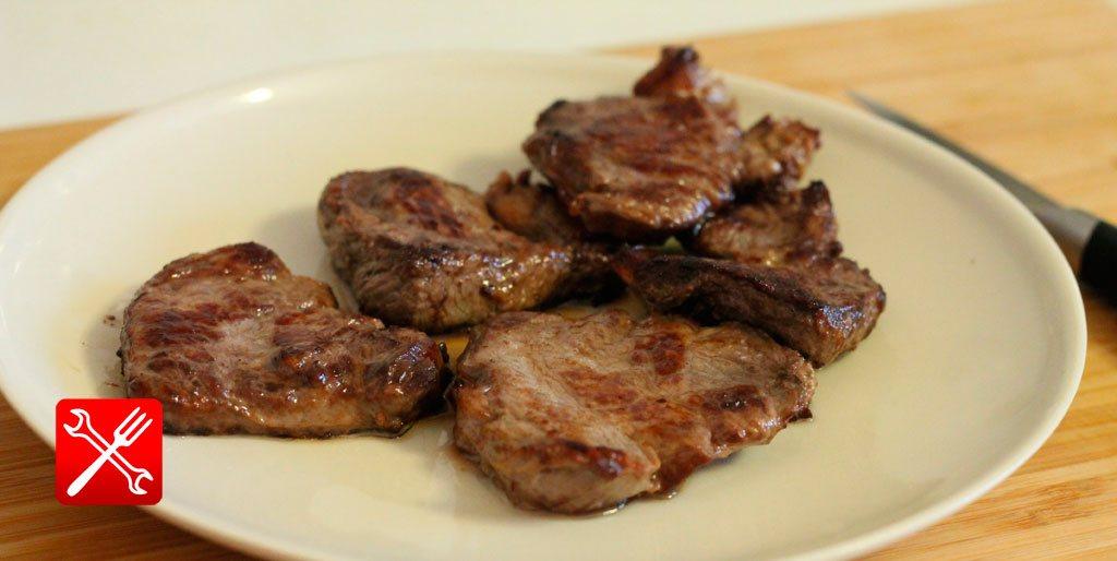 Как приготовить жареную говядину