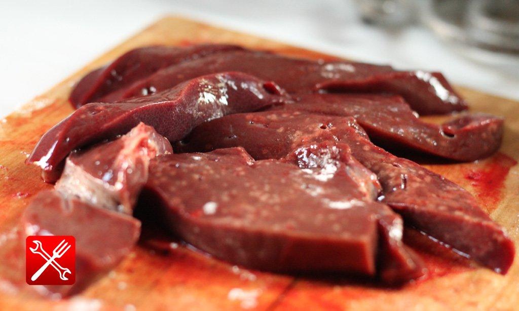 свиная печень рецепты приготовления на сковороде пошаговый