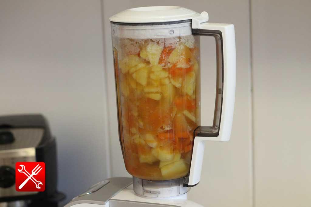 рецепт супа пюре из замороженной тыквы
