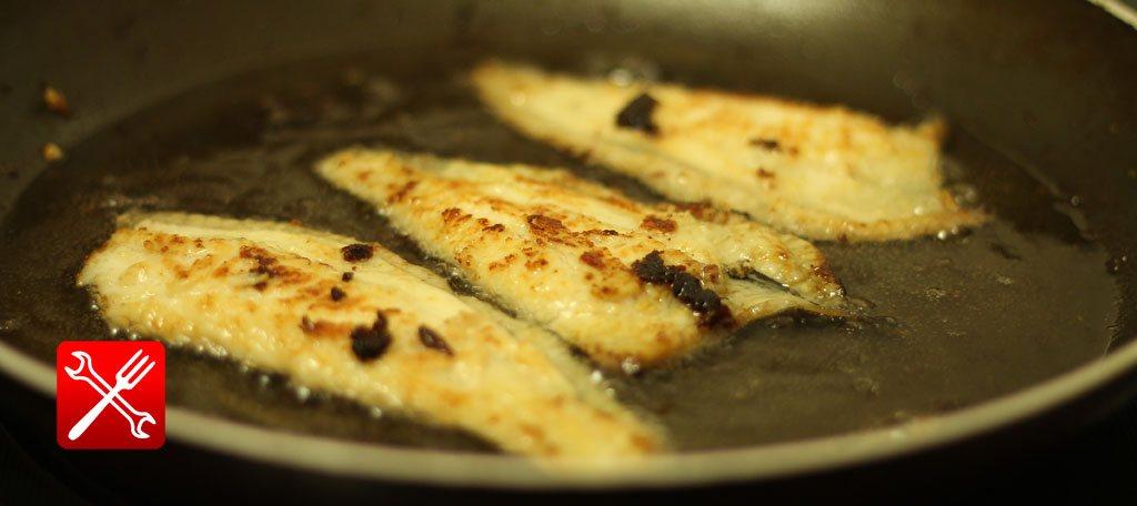 Вкусно пожарить замороженную рыбу